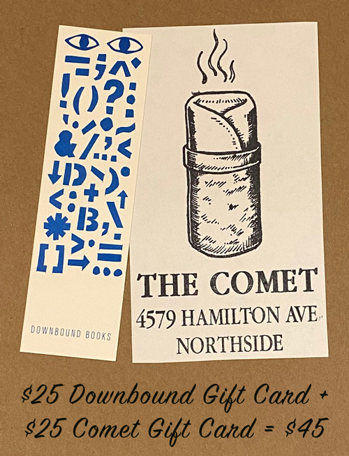 $25 Downbound Gift Card plus $25 Comet Gift Card for $25